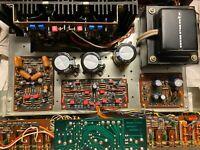 REBUILD SERVICE for Marantz 1060 Amplifier - Full Recap Capacitors & Transistors