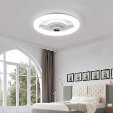 Modern RGB E27 Musik LED Deckenleuchte Bluetooth Lautsprecher Schlafzimmer Licht