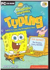 PC - Spongebob Squarepants Typing (PC) - Learn to type with Spongebob