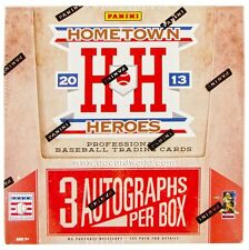 2013 PANINI HOMETOWN HEROES BASEBALL BOX / 12 Packs / 24 Cards