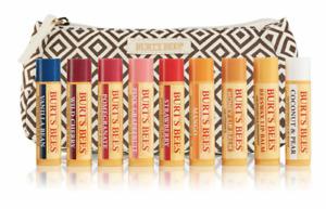 Burt's Bees 100% Natural Moisturizing Lip Balm (Variation) 4 Tube Gift Pack