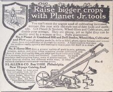 1918 AD(XE20)~PLANET JR. NO.4 COMBINED HILL AND DRILL SEEDER, WHEEL HOE