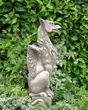 "Gartendeko Figur Skulptur Drache ""GRYPHON""  Pheeberts by Fiona Scott Steinguss"