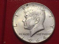 HALF DOLLAR 1964 KENNEDY USA UNITED STATES OF AMERICA SILVER ARGENTO