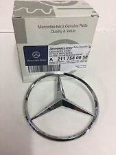 Genuine Mercedes-Benz W211 E-Class Rear Boot Emblem Star Badge A2117580058 NEW