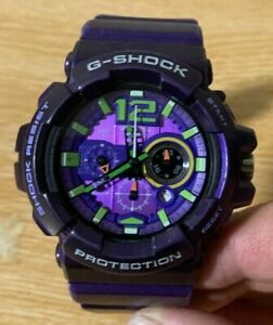 Casio G-Shock GAC-110 Evangelion First unit Color Purple Eva rare watch