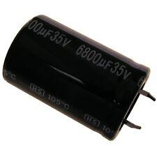 Elko Kondensator Jamicon HS 35V 6800uF RM10 25x40mm 105°C Snap-in 854288