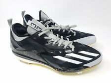 Adidas Boost Icon 2.0 PE James Shields Cleats Black Gold Size 12.5 NEW RARE
