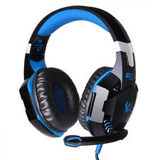 EACH G2000 Gaming Headset Stereo Headband Headphone for PS4 Xbox ONE/360 Blue