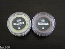 BARE ESCENTUALS * bare Minerals Eyeshadow Lot of 2 * RESTORE & REFRESH Eyecolors
