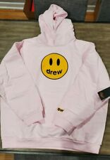 Drew House Mascot Hoodie Pale Pink Size XXL Authentic In Hand FREE SHIP