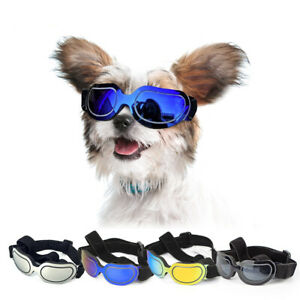 Pet Dog Goggles UV Protection Sunglasses Adjustable for Small Medium Breed dogs