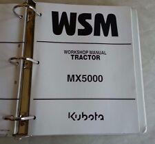 2001 KUBOTA MX5000 TRACTOR WORKSHOP SERVICE MANUAL / 97897-12920