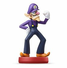 Nintendo amiibo Super Mario Bros. WALUIGI 3DS Wii Accessories NEW from Japan F/S