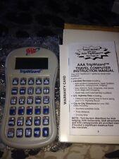 AAA Trip Wizard - Handheld Travel Computer Locates Restaurants, Gas, Lodging.