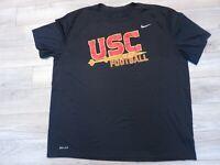 USC Trojans Football Team issued Nike Training Running Shirt 2XL XXL mens