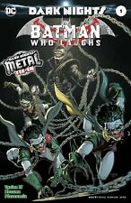 Batman Who Laughs One Shot Cover A 1st Print Foil-Stamped (Dark Nights Metal )