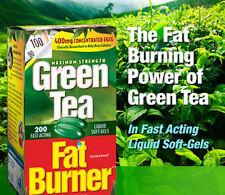 Applied Nutrition Green Tea Fat Burner 200 Liquid Soft-Gels