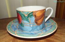 Victoria & Beale Cup & Saucer Pattern Forbidden Fruit Dinnerware Fine China