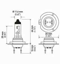 Headlight Bulb Front HELLA H7 70W