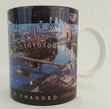 "Unisys ""While You Slept The World Changed""  Vintage Pre-Millenium Coffee Cup Mug"