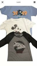 Disney large  Lot of 3 T-shirts / shirts Unisex