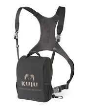 Kuiu Hunting Camo Bino Harness Binocular Chest Shoulder Gunmetal Large L
