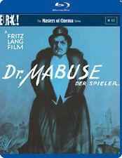 DR MABUSE DER SPIELER   - BLU-RAY - REGION B UK