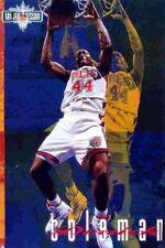 Derrick Coleman JAM SESSION New Jersey Nets Original 1993 Costacos NBA POSTER