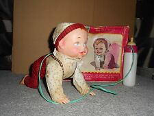 battery toys CRAWLING BABY TOMIYAMA  japon   1955