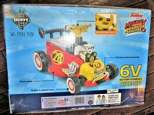 DISNEY JR MICKEY RIDE ON ROADSTER RACER HUFFY 6 VOLT BATTERY POWERED CAR KID TOY