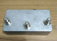 Three Button Footswitch forTC Helicon/TC Electronics  - Hand made in the USA