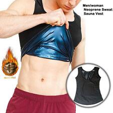 Мужские женские для похудения пояс корсет неопреновый жилет сауна пот тела формирователь спортивный жилет