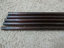 "5 Rod Building Wrapping old stock Graphite Maroon 75"" long rod blanks"