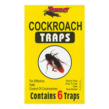 Cockroach Insect Ant Mite Spider Bed Bug Carpet Beetle Pest Control Trap 12 Pack