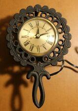 "Sessions Trivet Electric Clock Working ""Trivet Time"" TC-1"