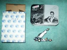 CASTROL JOHN FORCE ELVIS PRESLEY 25TH ANNIVERSARY 1:64 MUSTANG COLLECTIBLE TIN