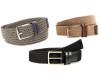 "Dockers Men's 1 3/8"" 35mm Stretch Fabric Braided Belt 11DK0360 Pick Color - Size"