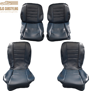Seat Covers Suitable For W126 Coupe 1. Series 1979-1985 Blue