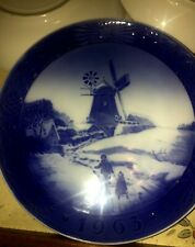 B&G Royal Copenhagen Country Christmas Limited Edition Plates Set Of 5