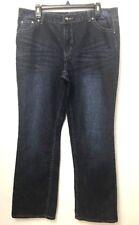 Cato Woman Bling Embellished Denim Jeans Plus Size 16 dark Wash