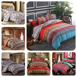 2021 New Fashion Bohemian Comforter Bedding Set King Duvet Cover Bed Cover