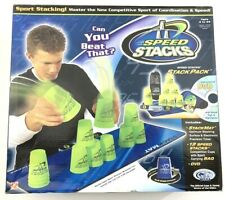 Speed Stacks Cups Competitor Sport Stacking Set Mat and Pro Timer 12 Cups Blue