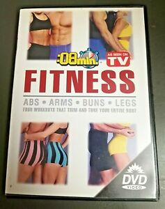 8 Min Fitness Abs Arms Buns Legs Focused Motivational Fitness DVD Seen on TV