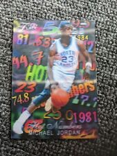 INVEST! MICHAEL JORDAN HOT NUMBERS CARD! LIMITED EDITION 1 OF 23!