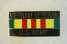 US USA Vietnam Veteran Military Hat Lapel Pin