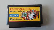 Jeu Nintendo FAMICOM KARATEKA NTSC JAPON en loose (n°2651)