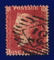 1856 SG30 1d Brick Red C8(2) AD Intense Shade London Diamond 37 CV £45 cbjm