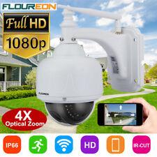 1080P HD 2.0MP Outdoor Wireless WiFi CCTV IP Camera 4X Optical Zoom PTZ Dome CAM