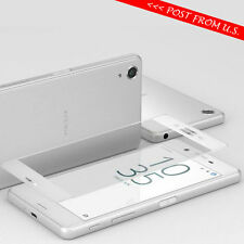 3D Curved Tempered Glass Screen Protector for SONY XPERIA XA Ultra F3213 WHITE